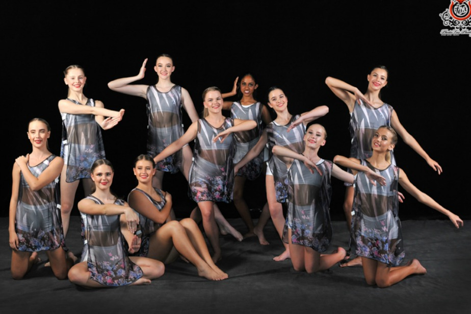 """""""On Being Blue"""" danced in the Gala Performance in October 2017 at the Playhouse Opera Theatre"""