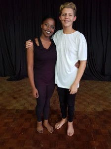 Sivuyile Nyasulu & Cameron van Wyk (Winners Amateur Junior Section)